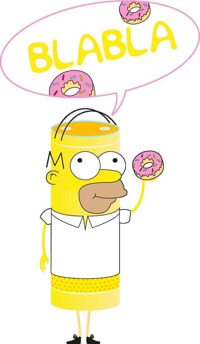 Voici une démonstration d'un assistant vocal sonorisé. Nous avons pris le cas fictif d'un vendeur de donuts avec le célèbre Homer Simpsons.