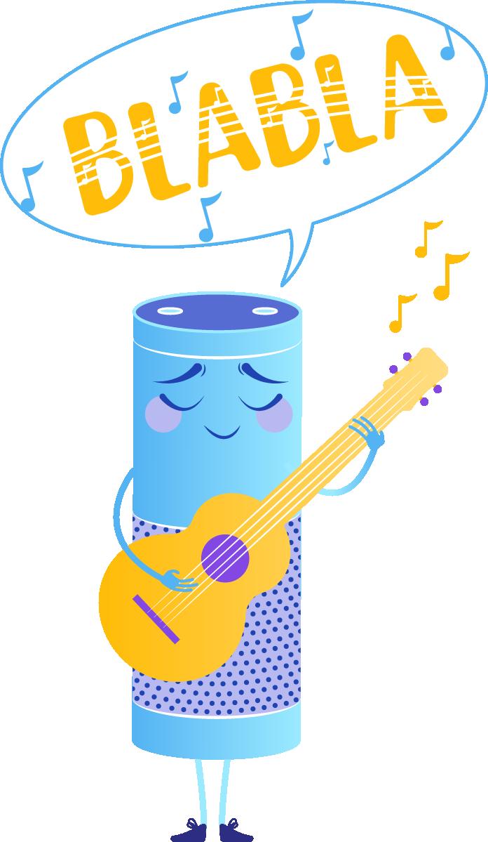 La dimension sonore d'un assistant vocal est un réel enjeu pour la marque. Sur ce support l'interaction est exclusivement sonore !